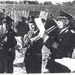 von links: Johannes Scharfenberg, Kurt Reimers, Emil Kock