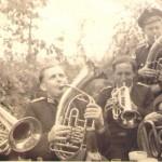 Werner Näveke, Willi Garling, Walter Scheel
