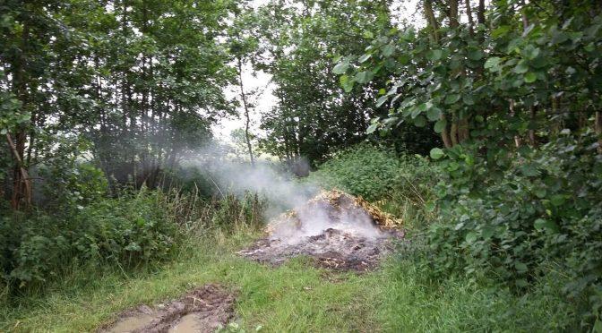 Unrat brennt im Haubenredder